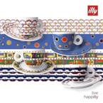 ILLY ART COLLECTION GILLO DORFLES X4